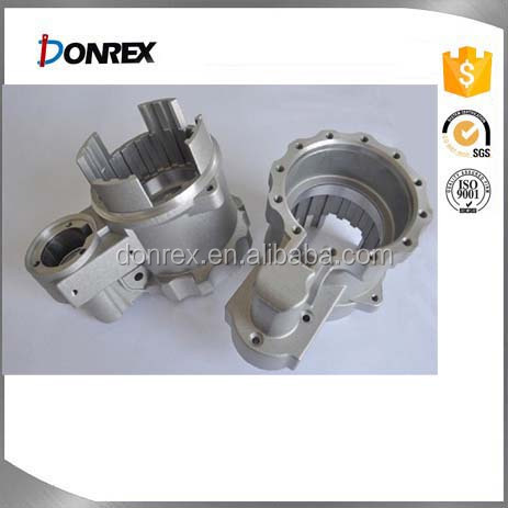 Aluminum die_casting parts with cnc_machining_parts_for_electric_motors