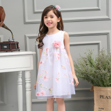 S13549A Children Little Girls Smart Casual Wear Dress
