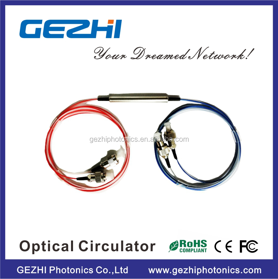 C+L band 4port Fiber Laser 1060nm Polarization Insensitive optical Circulator