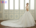 SL-107 Charming Alibaba Wedding Dress Online Wedding Gown 2017