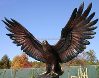 large resin eagle statue
