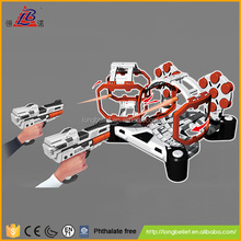 Best quality shooting game plastic air softs tommy gun toy for kids