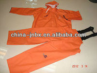1.rain gear - rubber fishing suit