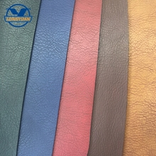 Hot sale bag pu leather material textile,embossed color change PU leather fabric