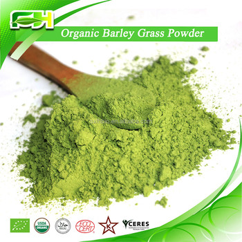 2016 New Certified Organic Barley Grass Powder
