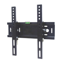 Quality tilt cold rolled steel tv bracket sliding flat lcd plasma tv wall mount for most 42 inch TVs with vesa max. 300*300mm