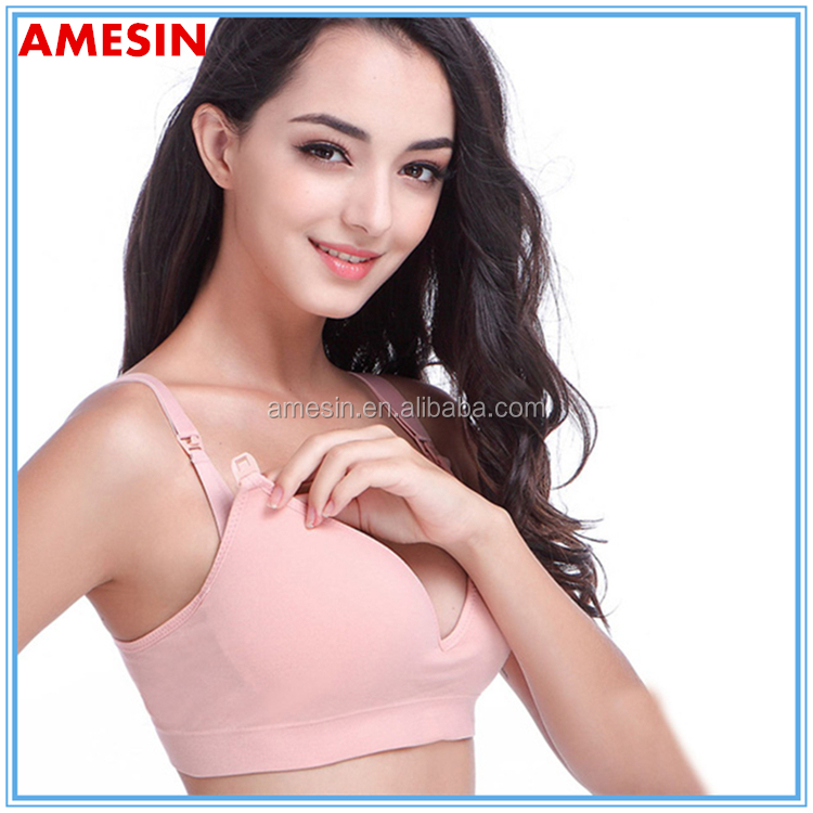 Double Push Up Bra Nice Design Quality Seamless Maternity Bra For New Mom