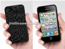 New design silicone phone case for iphone 4s for promotional gift