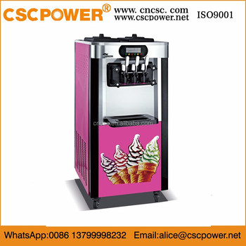 cscpower big capacity ice cream machine for sale