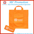 Foldable non woven tote shopping bag with snap closure