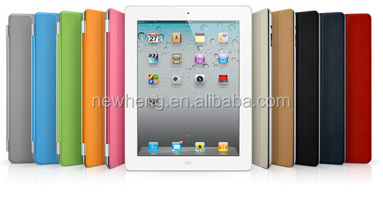 New Plastic Back Transparent or Solid Cover Case WITH Smart Cover Magnetic Cover for ipad 5 for ipad Air