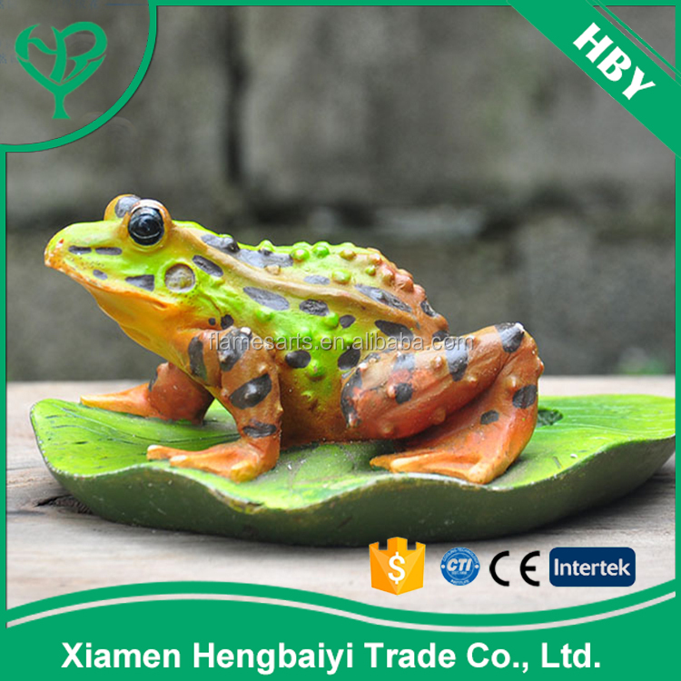 Superior Quality Resin Figurine Craft Animal Frog Polyresin Sculpture For Sale