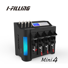 Necessary ink cartridge refill machine for ink refill station