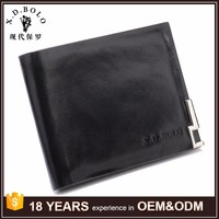 Hot Selling Mens Design German Leather Wallets Coin Purse