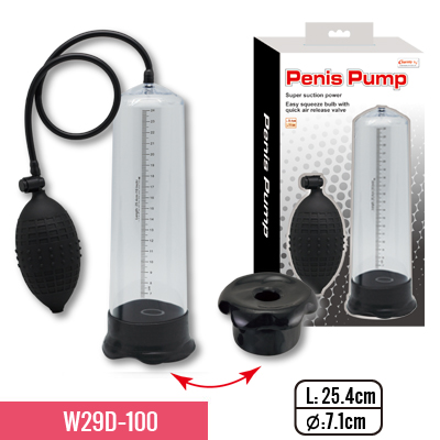 Dildo enlargement penis pump for man sex toy