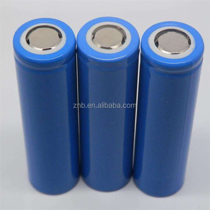 3.7V 2200mAh li-ion battery 18650 lithium ion battery cell