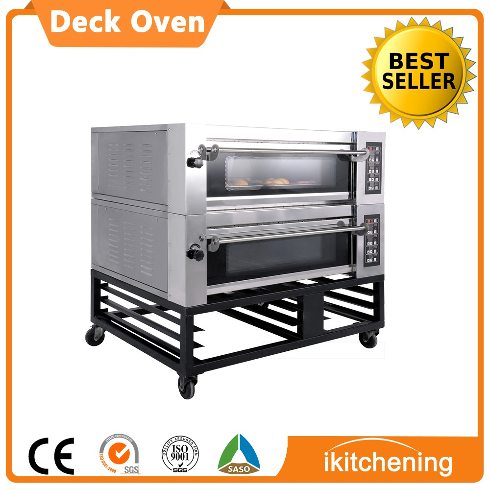 Electric Gas Deck Oven Arabic Bread Machine Commercial Cake Oven