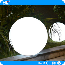 environment friendly illuminated Clear plastic ball / LED Glowing and illuminated ball