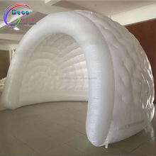 Inflatable white dome tent supplier/Inflatable igloo reception room