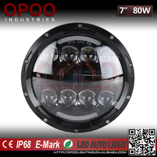 2017 Top New Hi/Low DRL Demon Eye Round 7 inch Jeep Led Headlight