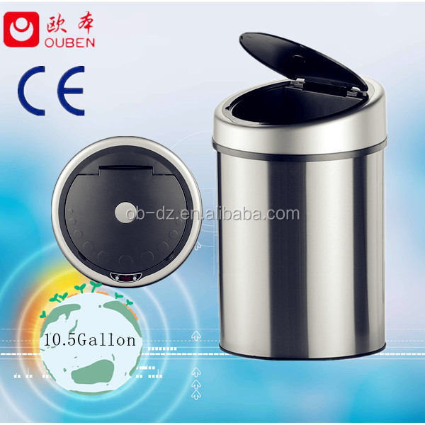 kitchen garbage container trash bin waste basket(GYT40-4B-S)