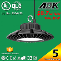 CE Rohs TUV SAA UL DLC Certificate 150W industrial LED High bay light