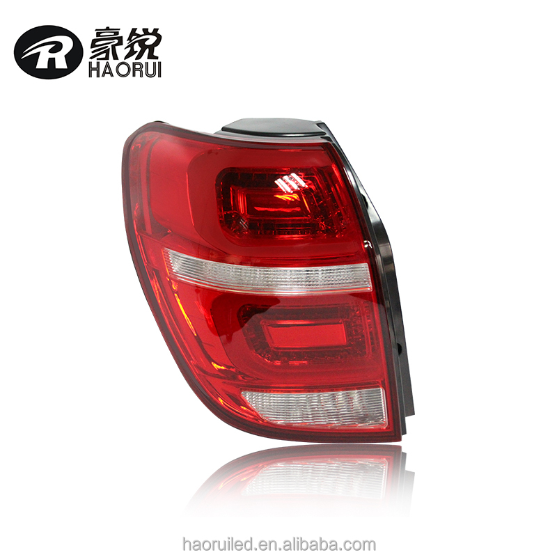 high quality led car light red smoke color new 2014 chevrolet captiva modified auto tail light