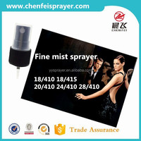 Custom 18 415 plsatic perfume spray dispenser pump and fine mist sprayer in any color dosage 0.14ml use in air freshen bottle
