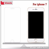 High clear tempered glass screen protector for iphone 7,high transparant for iphone 7 tempered glass,for iphone 7 screen protect