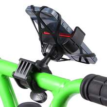 Universal Motorcycle Support Bicycle Mobile Phone Holder with Mounting Bracket for smart Cell Phone