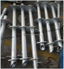 Helical Piled Foundations High Quality Helical Screw Pile