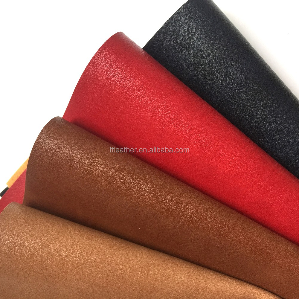 Bag Making Material, Printed Grain PU Synthetic Leather for Making Bags Shoes Boots