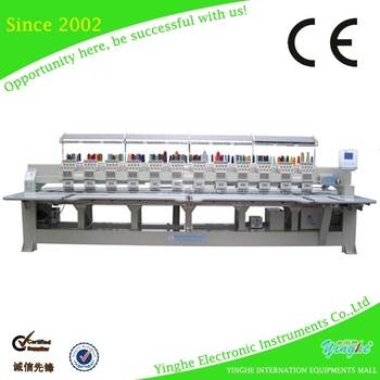 industrial embroidery machine for sale