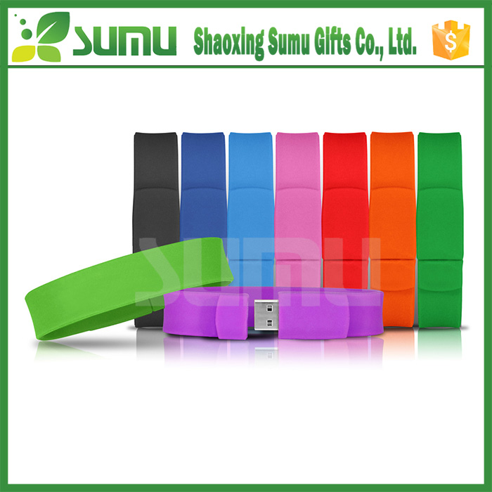Hot Selling Promotional Hand Band Usb Flash Drive