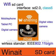 16GB Wifi sd card--great innovation change your camera to be wifi digital camera
