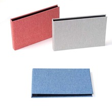 Mini Cotton Flat Back Photo Album Self-adhesive Photo Album Manufacturer