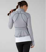 women yoga clothing fitness wear girls yoga jacket
