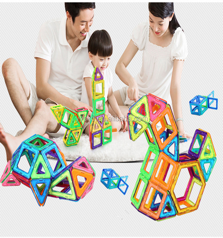 Educational wholesale new toys magnetic building blocks sets