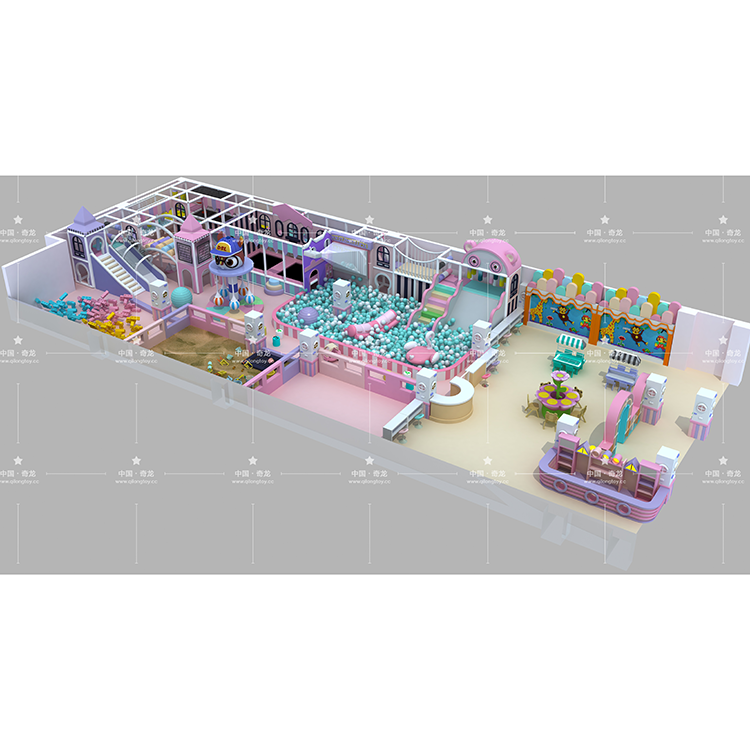 New Design Multi-Functional Large Playground Indoor For Sale