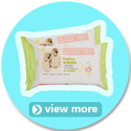 Low Price B Grade Comfort Cotton Baby Diapers in Bulk with Blue Layer