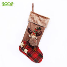 20'' Cheap price funny toys socks decoration customized christmas promotional items