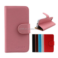 Simple wallet design leather cover flip case for Samsung Galaxy Star 2 S5282