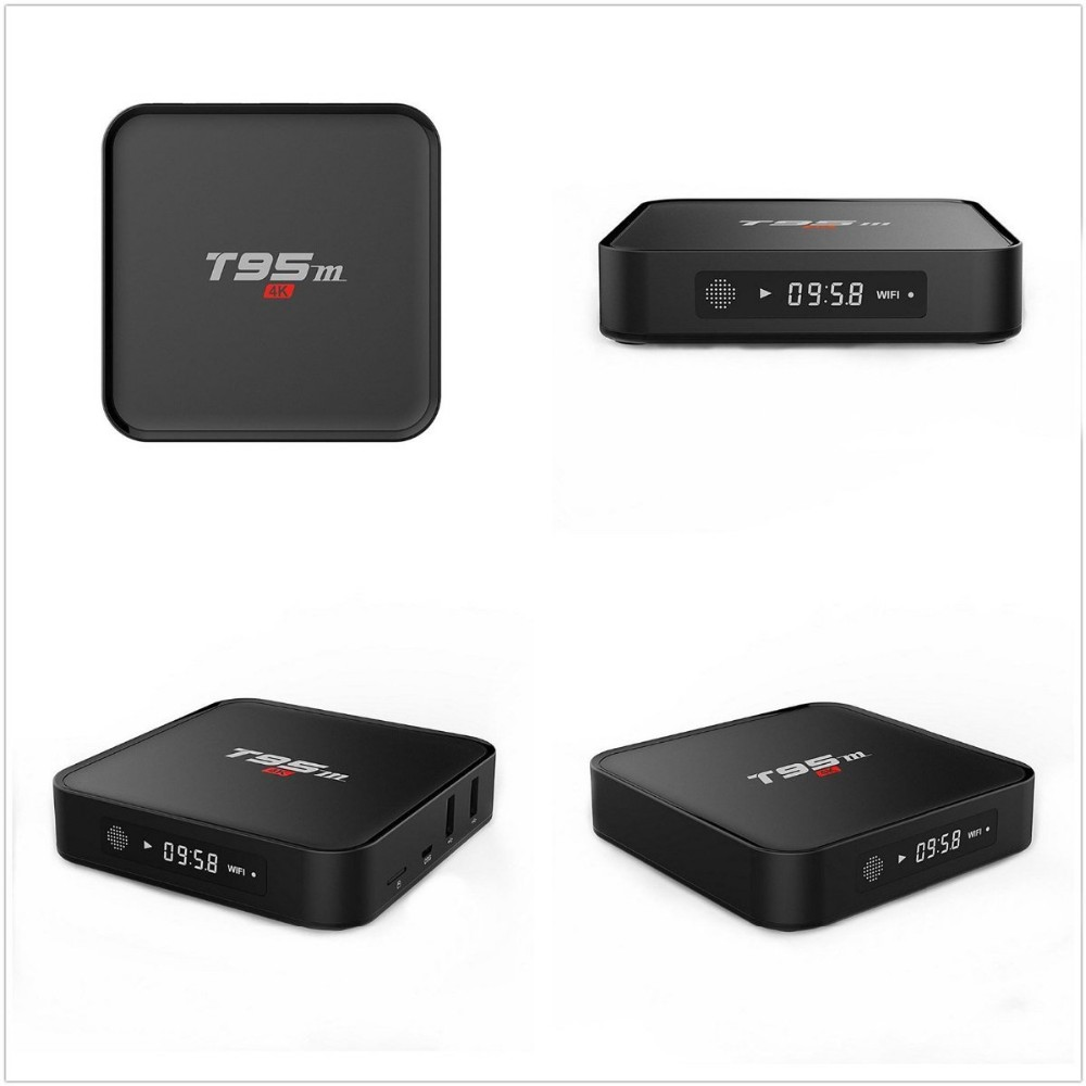 T95M Android TV Box 2g/8G Dual band 2.4G/5G wifi Android 5.1 Amlogic S905 4K