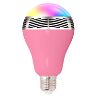 Wireless bulb led light bluetooth speaker with remote control