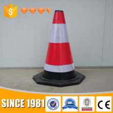 PVC black base cone plastic road folding traffic cones
