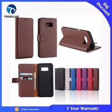 New Products Wallet Card Slot Stand Case for Samsung Galaxy S6 Edge Leather Case