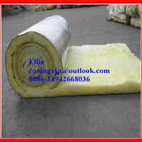 Fiberglass Insulation duct Wrap batt /Low density glass wool felt thermal insulation