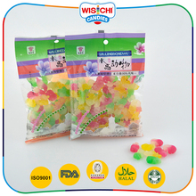 Hot selling double color animal shaped soft chewing gummy