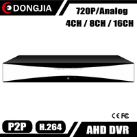 DONGJIA Real Time AHD 720P 960H H 264 Standalone 16 Channel DVR