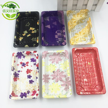XYW05 Custom boxes for food packing sushi disposable food container